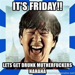 mr chow hangover - IT'S FRIDAY!! LETS GET DRUNK MUTHERFUCKERS HAHAHA