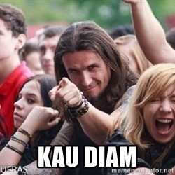 Ridiculously Photogenic Metalhead Guy -  KAU DIAM