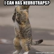 Begging Cat - I CAN HAS NEUROTRAPS?