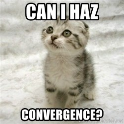 Can haz cat - CAN i HAZ cONVERGENCE?