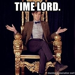 Hipster Doctor Who - Time lord.