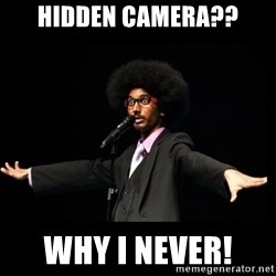 AFRO Knows - hidden camera?? why i never!