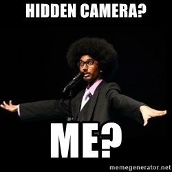 AFRO Knows - hidden camera? me?