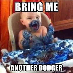 Smurf baby - Bring Me  another dodger