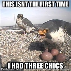 #CEFalcons - This isnt the first time I had three chics