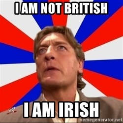 Regal Remembers - I AM NOT BRITISH  I AM IRISH