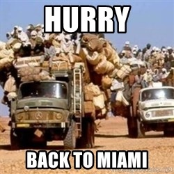 BandWagon - Hurry back to miami