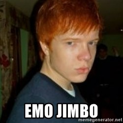 Flame_haired_Poser -  EMO JIMBO