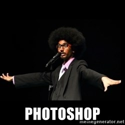 AFRO Knows -  photoshop