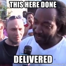 Charles Ramsey - this here done delivered