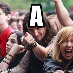 Ridiculously Photogenic Metalhead Guy - A
