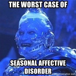 Mr. Freeze - The worst case of seasonal affective disorder