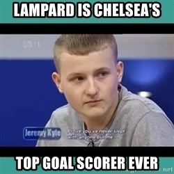 Sympathy Sacha - LAMPARD IS CHELSEA'S  TOP GOAL SCORER EVER