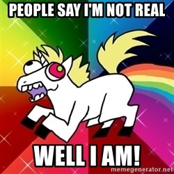 Lovely Derpy RP Unicorn - People say i'm not real well i am!