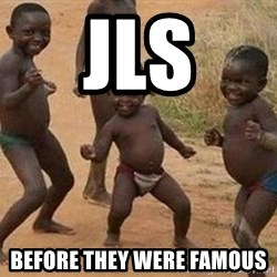 african children dancing - Jls Before they were famous