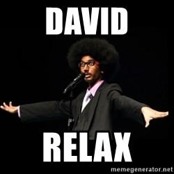 AFRO Knows - david relax
