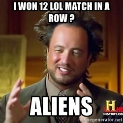 Giorgio A Tsoukalos Hair - I won 12 LOL match in a row ? Aliens