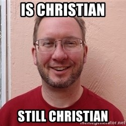 Asshole Christian missionary - is christian still christian