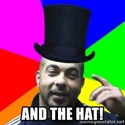 facebookazad -  AND THE HAT!