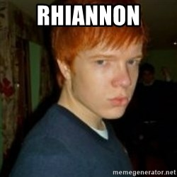 Flame_haired_Poser - RHIANNON