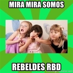 CARO EMERALD, WALDECK AND MISS 600 - MIRA MIRA SOMOS  REBELDES RBD