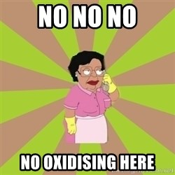 Consuela Family Guy - no no no no oxidising here