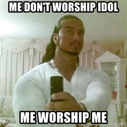 Guido Jesus - me don't worship idol me worship me