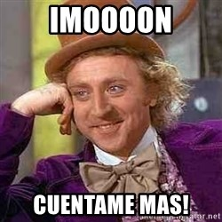 CHARLIE AND THE CHOCOLATE FACTORY - Imoooon cuentame mas!