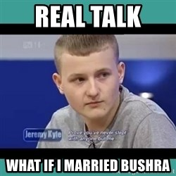 Sympathy Sacha - REAL TALK  WHAT IF I MARRIED BUSHRA