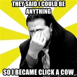 IanBogost - they said I could be anything so i became click a cow
