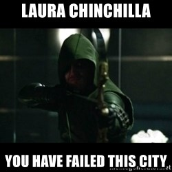 YOU HAVE FAILED THIS CITY - Laura chinchilla YOU HAVE FAILED THIS CITY