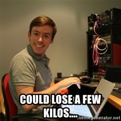 Ridiculously Photogenic Journalist -  COULD LOSE A FEW KILOS....