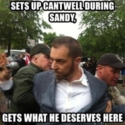 Adam Kokesh - Sets up Cantwell during Sandy, Gets what he deserves here