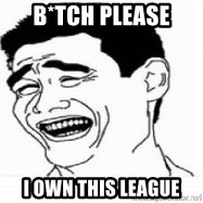 Yao Ming 5 - B*tch please I own this league