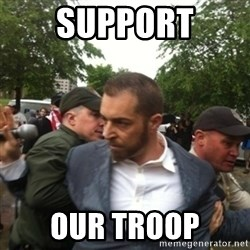 Adam Kokesh - Support our Troop