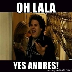 fuck me right jonah hill - oh lala yes andres!