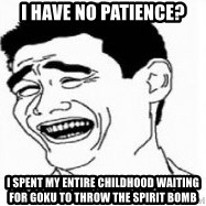 Yao Ming 5 - I have no patience? I spent my entire Childhood waiting for Goku to Throw the Spirit Bomb