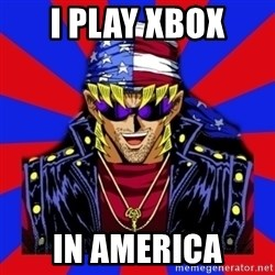bandit keith - I play xbox in america