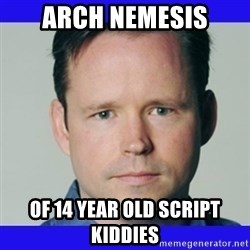 krebsonsecurity - arch nemesis of 14 year old script kiddies