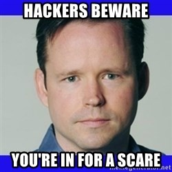 krebsonsecurity - HACKERS BEWARE  You're in for a SCARE
