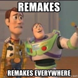 X, X Everywhere  - remakes remakes everywhere