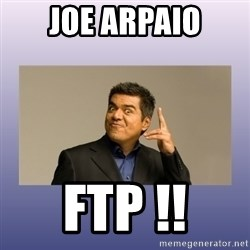George lopez - Joe arpaio ftp !!