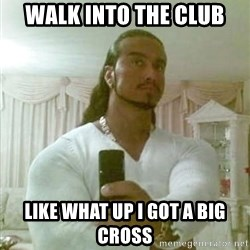 Guido Jesus - Walk into the club Like what up I got a big cross
