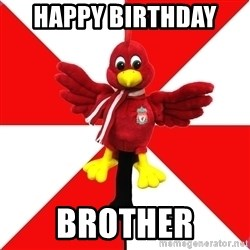 Liverpool Problems - Happy biRthday  BRother