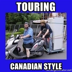 Motorfezzie - TOURING Canadian style