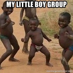 african children dancing - MY LITTLE BOY GROUP
