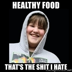 Samin makro - HEALTHY FOOD THAT'S THE SHIT I HATE