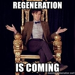 Hipster Doctor Who - REGENERATION IS COMING
