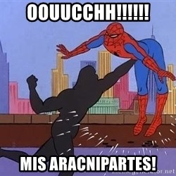 crotch punch spiderman - OouucchH!!!!!! MIS aRAcnipartes!
