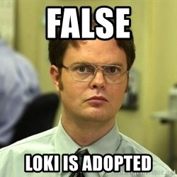 False guy - false loki is adopted